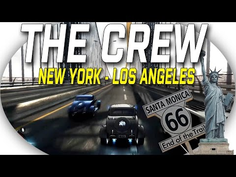 The Crew: New York to Los Angeles in Hotrods #ROADTRIP!