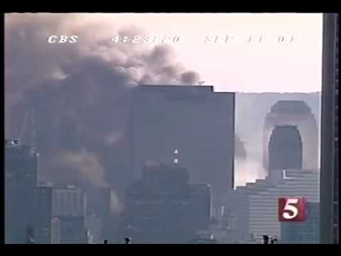 Figure 4.24b Video of WTC 7 Collapse, Perspective 2 — UAF WTC 7 Draft Report