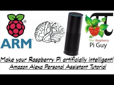 Make your Raspberry Pi artificially intelligent! - Amazon Alexa Personal Assistant Tutorial