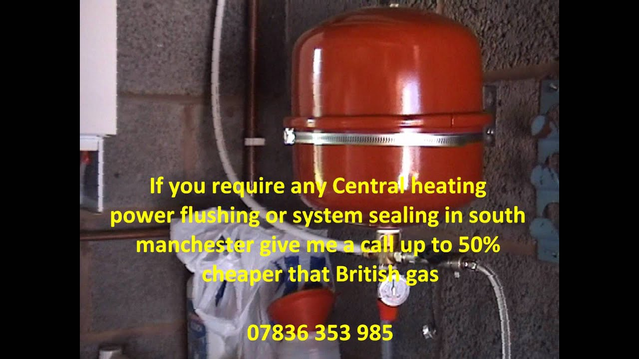 Sealed Central Heating system in stockport,Air in central heating ...