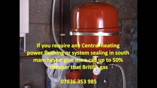 Sealed Central Heating system in stockport,Air in central heating system