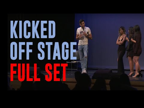 KICKED OFF STAGE - FULL COLUMBIA SET | Nimesh Patel | Stand Up Comedy | DESCRIPTION FOR DETAILS