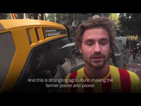 farmers-take-to-barcelona's-streets-in-tractors-to-support-referendum