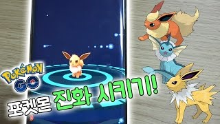 포켓몬  Go! 그동안 잡은 포켓몬을 진화시켜보자!! [포켓몬 go : pokemon go] 빅민