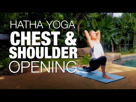 Chest & Shoulder Opening Hatha Yoga Class - Five Parks Yoga