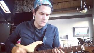 John Mayer - Worked up this combo bass line/rhythm stab idea ...
