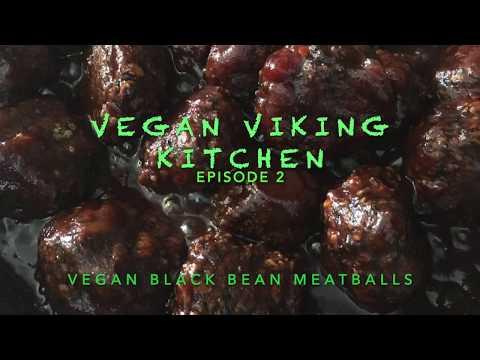 Gluten-Free Vegan Black Bean Not-Meat MeatBalls