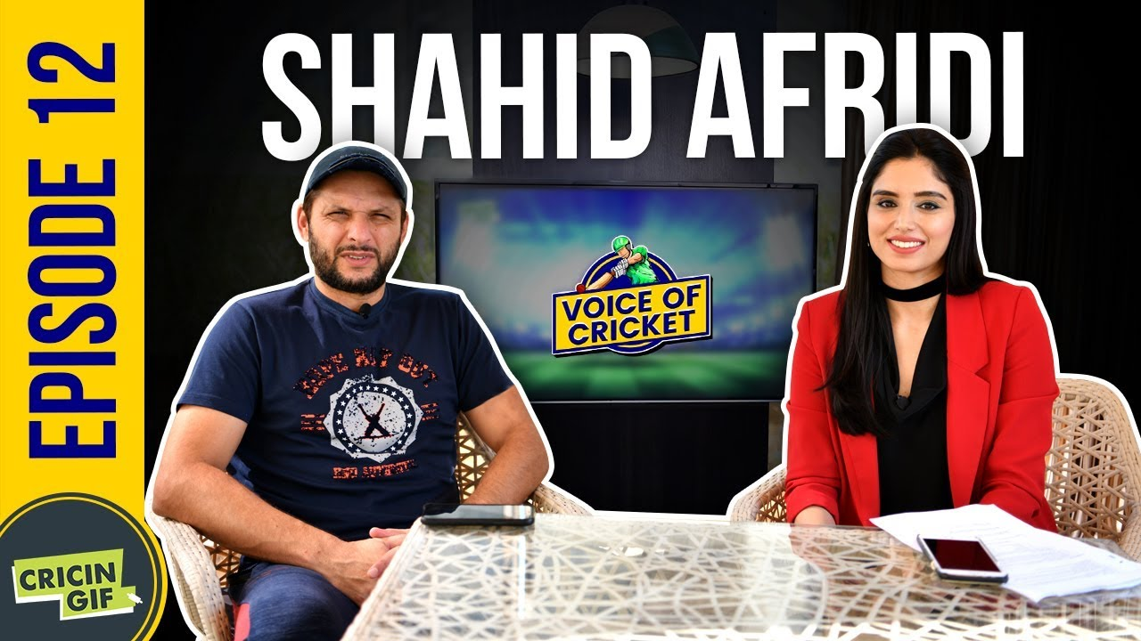 Shahid Afridi, in conversation with Zainab Abbas - Voice of Cricket Episode 12