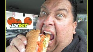 SUBWAY®'s Chipotle Chicken Melt w/Guacamole Review!