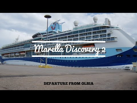 "Departure Of Cruise Ship ""Marella Discovery 2"" From Olbia 