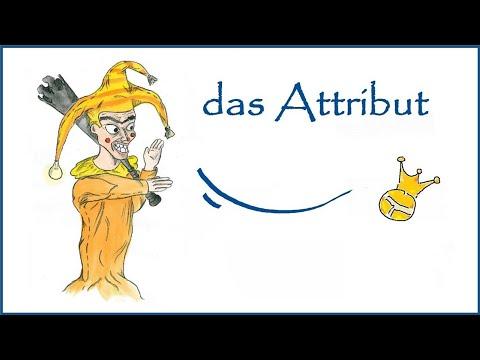 Zum Attribut - Satzglieder (5) - DiB