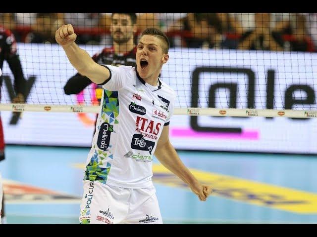 Domenica nel derby con Verona Gabriele Nelli alla 100^ presenza con Trentino Volley