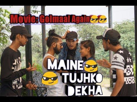Maine Tujhko Dekha Golmaal Again  Ajay...