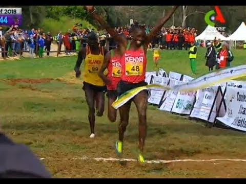 Alfred Barkach WINS Senior Men 10km - African Championship Cross Country Chlef 2018