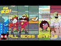 All Boss Battle - OK K.O.! Let's Play Heroes - Walkthrough Gameplay