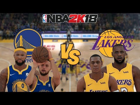 553ab5ce3f9a NBA 2K18 - Golden State Warriors (Cousins!) vs. Los Angeles Lakers (