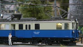 Modelleisenbahn GoldenPass Panoramic in Spur H0e