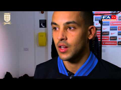 Theo Walcott talks to FATV after the win against Brazil | FATV