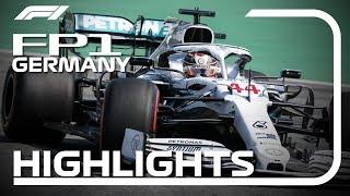 2019 German Grand Prix: FP1 Highlights