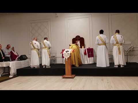 Assyrian Church Sunday Mass ♱ Mar Zaia Khoshaba ♱ May 13, 2018, Toronto, pt2