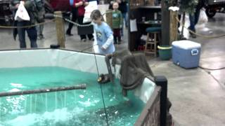 Trout fishing at the Madison Fishing Expo