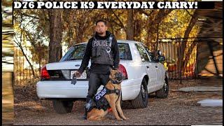 K9 Police Dog Everyday Carry! Crown Rick Auto EDC