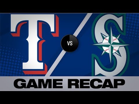 Vogelbach rocks 2 home runs in Mariners' win | Rangers-Mariners Game Highlights 7/24/19