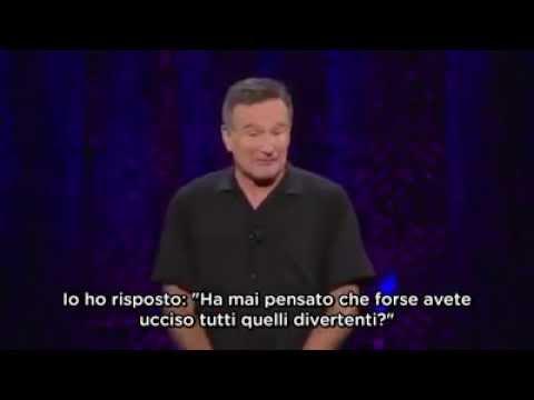 Robin Williams contro i tedeschi e la Chiesa cattolica