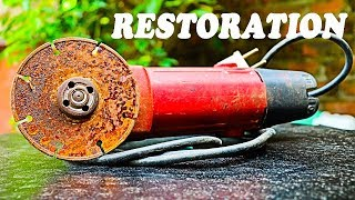Very Old Angle Grinder Restoration [project]