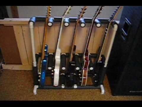 Diy Guitar Stand Youtube