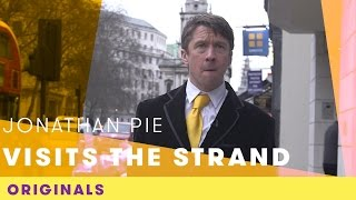 Jonathan Pie Visits The Strand | Comic Relief Originals