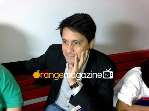 Richard Gomez Interview for ''Quiet Please! Bawal Ang Maingay'' Game Show