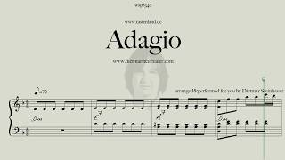 Download Adagio  -  my Version of the Adagio by J.S.Bach/Marcello Mp3 and Videos