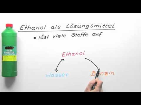 ethanol wo ist er berall enthalten chemie youtube. Black Bedroom Furniture Sets. Home Design Ideas