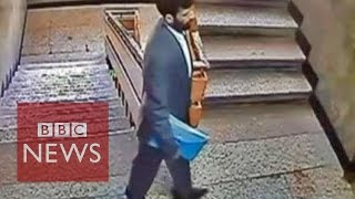 Taliban assassin caught on CCTV