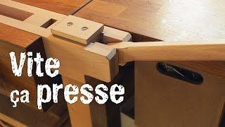 La presse latérale d'établi :: Outillage pour le bois