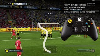 FIFA 16 /FIFA 15 KNUCKLEBALL/POWER FREEKICK TUTORIAL(DIPPING FREEKICK - https://www.youtube.com/watch?v=OrS7jAXPTCY https://www.facebook.com/TheFifa11Videos||https://twitter.com/thefifa11videos Second ..., 2014-09-10T10:57:25.000Z)