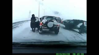 Подборка ДТП часть 1 Республика Казахстан(, 2016-11-02T19:16:53.000Z)
