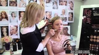 Свадебный макияж. Прическа невесты. Видеоурок. Мастерская стиля Веры Лихобаба.