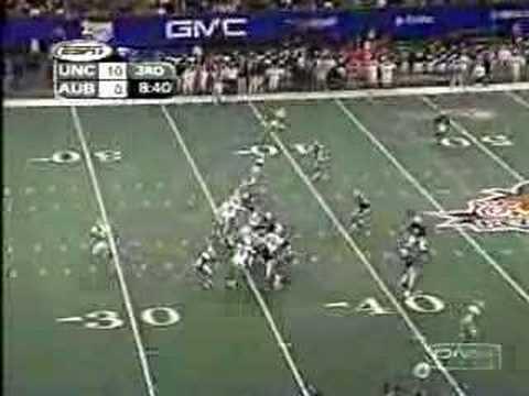 2001 Peach Bowl  UNC 16 - Auburn 10