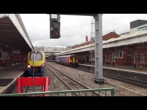 Trains At Nottingham Station (13th June 2017) HD