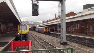 Trains At Nottingham Station (13th June 2017) HD