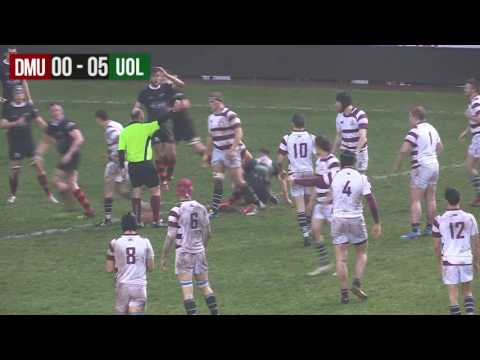 DMU Vs UoL - Men's Rugby Varisty 2016