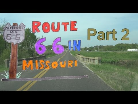 Route 66 | 2 of 17 | Near Rosebud to Sullivan to just East of Cuba