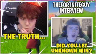 CLIX Gets INTERVIEWED By THE FORTNITE GUY & Reveal The Truth About NRG & UNKNOWN!