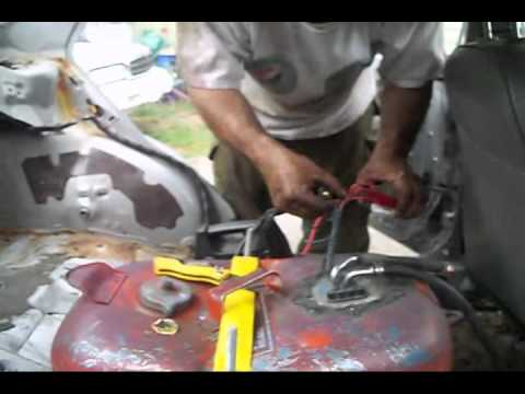 Wiring Fuel TankHow To - YouTube