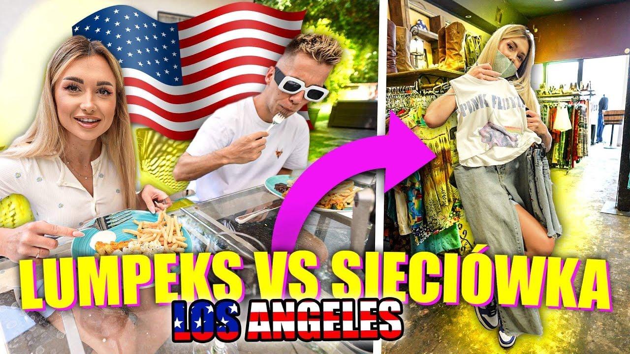 LUMPEKS VS SIECIÓWKA 🇺🇸 W LOS ANGELES!