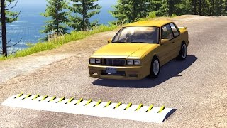 Spike Strip High Speed Crashes #7 – BeamNG Drive