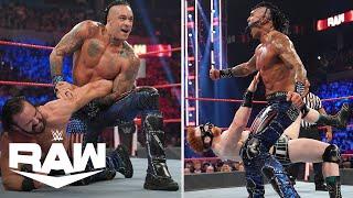 Damien Priest DECIMATES Two Former WWE Champions WWE Raw Highlights 8 30 21 WWE on USA