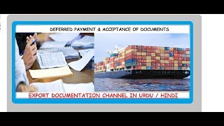 S.# 93 Difference between Deferred payment & Acceptance of documents in Urdu/Hindi
